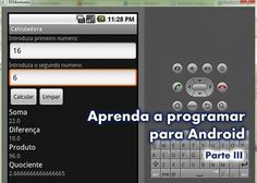 Aprenda a programar para Android – Parte III