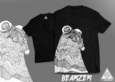 Hezshirts on Behance Adidas Jacket, Shirt Designs, Behance, T Shirt, Jackets, Tops, Women, Fashion, Down Jackets