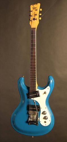 1965 Mosrite Ventures Semie Moseley never had the success he deserved. He was an excellent craftsman and he had some very interesting ideas about designing and building guitars, but by all accounts he Surf Guitar, Guitar Art, Music Guitar, Cool Guitar, Guitar Chords, Unique Guitars, Custom Guitars, Vintage Guitars, The Ventures