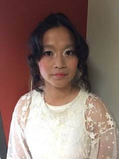 Beautifully taiwanese style hair and makeup for another bride