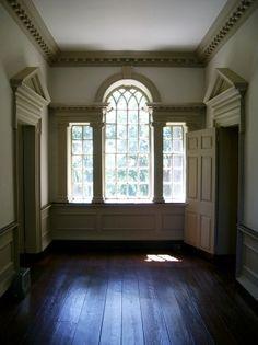 Woodford Mansion Palladian window - Fairmount Park Villas