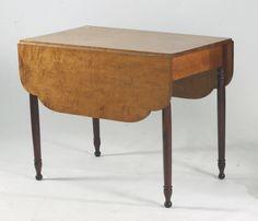 Divine Antique drop leaf table value