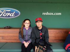 Fun at Little League Opening Day at Fenway Park @bostonredsox #RedSoxParents