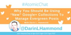 RT Atomic Reach: Don't know how to increase the longevity of your #blog post? Ask Darin L. Hammond on #AtomicChat! 9pm ET/8pm CT/6pm PT pic.twitter.com/r6npg7Btfm Medium Blog, Social Media, Twitter, Cat Breeds, Social Networks