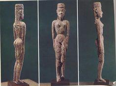 ***Diosa del Dípylon (S.VIII a.C.), Atenas, Museo Arqueológico Nacional.