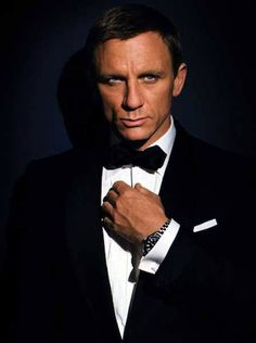 Daniel Craig Why do I love this guy so much?  It's his good looks, his suave and unique skills to attract my attention.
