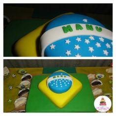 #Brazilflagcake  #worldcupcake  #manucake  #anaquefez