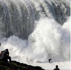 The beast awakes ♒ www.pinterest.com/WhoLoves/Waves ♒#surf #waves #beach