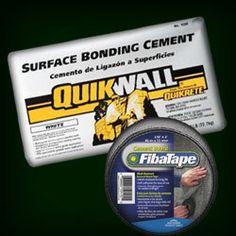 QuikWall and FibaTape