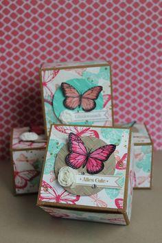 Geschenkboxen mit Schmetterlingen (Stampin' Up!) by stempeldochmal.de