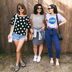 @deboralcantara @barbaralcantara @julialcantara #sis #irmasalcantara no Instagram mom jeans