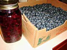 Canning Blueberry Pie Filling  This recipe is amazing!!!! Definitely going to have to make more!!