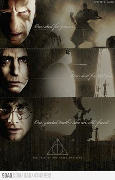 Deathly Hallows - so did not make that connection till now.... WOW! Mind blown!