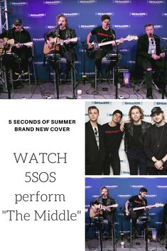 5 Seconds of Summer 5SOS' brand new cover of Zedd, Maren Morris & Grey's The Middle #cover #5sos #5secondsofsummer