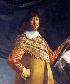 Rosenborg » Frederik 3. var konge af Danmark-Norge fra 1648, gift med Sophie Amalie af Braunschweig-Lüneburg i 1643; far til bl.a. Christian 5. Frederik var søn af Christian 4. og Anna Cathrine af Brandenburg, men blev først tronfølger efter sin brors, den udvalgte prins Christians død i 1647.