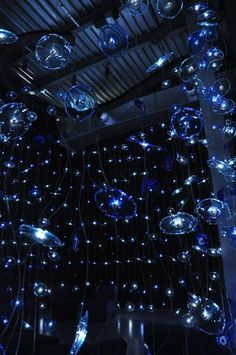 barovier & toso: blue lights by paola navone. more images at www.barovier.com