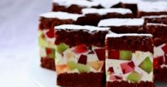 Food Cakes, Cake Recipes, Diy And Crafts, Cookies, Blog, Polish, Bakken, Cakes, Crack Crackers