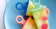 Summer's in full swing, so slide over to the freezer for a frosty treat of melon and pineapple ice-blocks.