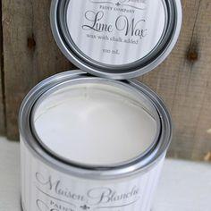 Lime wax in chalk white 500ml