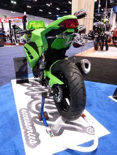 Kawasaki Ninja 300 2015 under tail