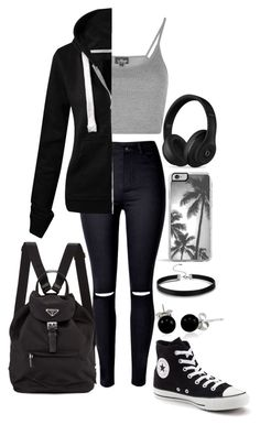 """"""" #060"""" by molliethompsonn on Polyvore featuring Topshop, WithChic, Converse, Bling Jewelry, Zero Gravity and Beats by Dr. Dre"""