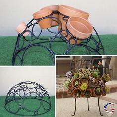 Spherical steel plan
