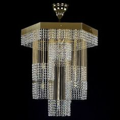 Petronela - crystal chandeliers Modern Chandelier, Modern Lighting, Lighting Design, Crystal Chandeliers, Ceiling Lights, Crystals, Interior, Home Decor, Light Design