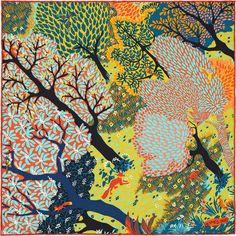 Gavroche 45 x 45 cm Hermès | Dans un Jardin Anglais