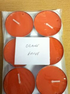 Pack of 10 Scented Tea Lights Various Scents | eBay