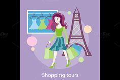 Shopping Tour by robuart on Creative Market