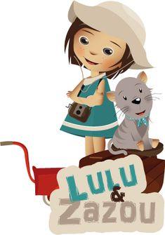 illustrateur jeunesse – logotype Lulu et Zazou