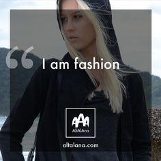 i am fashion! altalana.com #madeinitaly