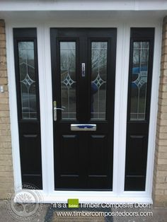 Solidor Composite Doors By Timber Composite Doors Real Pictures, Real  Homes, Real Doors,
