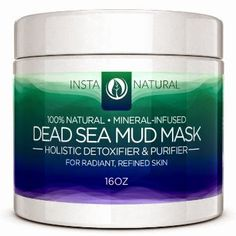 #instanatural .                                : INSTANATURAL DEAD SEA MUD MASK REVIEW