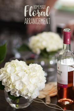 Illuminate the darkest of days with Sutter Home's Homemade Floral Arrangements. A glass of White Zin added to the bunch makes for a refreshing dose of joy to your day. Sutter Home, Tablescapes, Floral Arrangements, Home And Family, Joy, Homemade, Wine, Simple, Glass