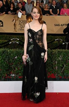 8cc80547325b Emma Stone At 23rd Annual Screen Actors Guild Awards In Los Angeles -  January 29