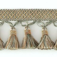 "DECORATIVE 3"" TASSEL FRINGE AQUA 287665"