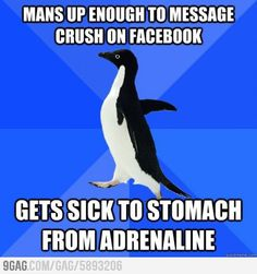 Socially Awkward Penguin- It is sad that these things happen to me. I guess I'm socially awkward too. Anxiety Cat, Social Anxiety, Socially Awkward Penguin, Socially Awkward Quotes, 4 Panel Life, Las Vegas, Thing 1, Thats The Way, Look At You