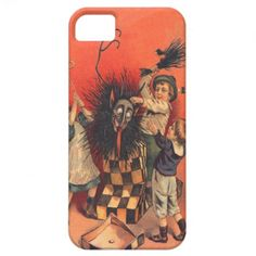 Krampus Jack-In-A-Box iPhone 5 Case