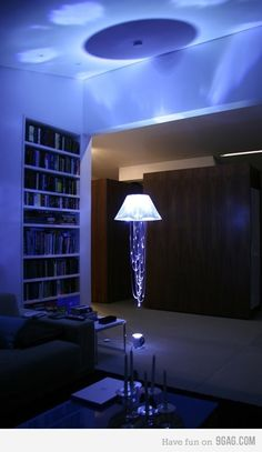 LED Jellyfish Lamp