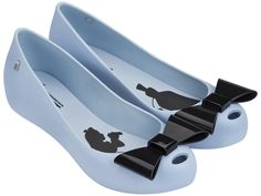 Alice in Wonderland- Baby Blue (Adult) Bow Flats by Mini Melissa