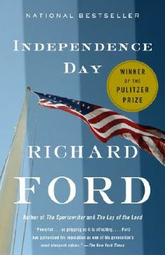 Sue recommends Independence Day by Richard Ford