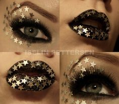 star makeup, Love the Eyes