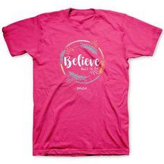 Believe Adult Christian T-Shirt Christian Tee Shirts f7cfa2237