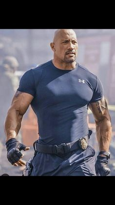 """Dwayne """"The Rock"""" Johnson in Fast & Furious 6"""