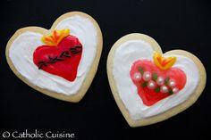 Catholic Cuisine: Sacred & Immaculate Heart Cookies