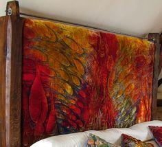 Bed Headboard by Rosie Logan