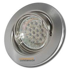 1.5Watt LED Einbauleuchte Tomas mit Warmlicht. Sehr geringer Stromverbrauch und Temperaturentwicklung.