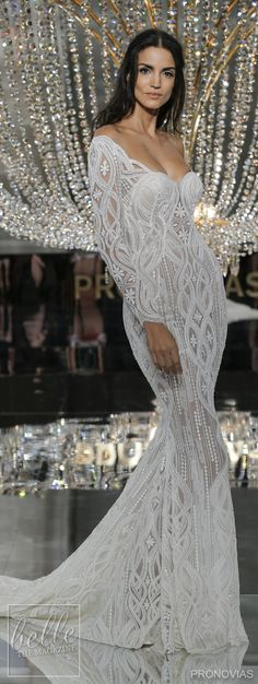 Winter Wedding Dress - New York BRIDAL FASHION WEEK OCT2017