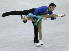 Peng Cheng and Zhang Hao of China skate during the pairs short program at the ISU Grand Prix of Figure Skating Final